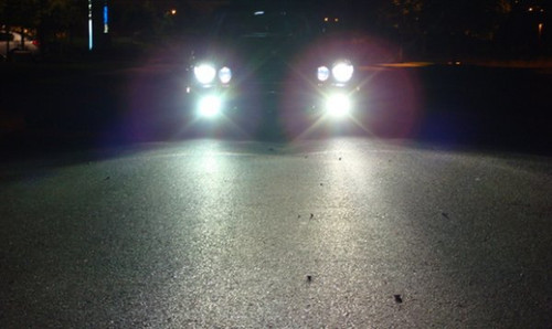 1990-2002 Mercedes-Benz SL-Class R129 Xenon Fog Lamps Driving Lights