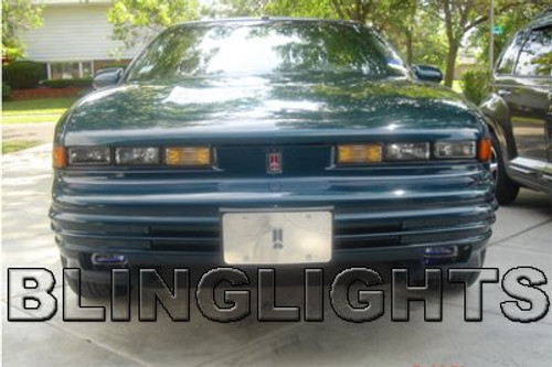 1992 1993 1994 1995 1996 1997 Oldsmobile Cutlass Supreme Xenon Fog Lights Driving Lamps Kit