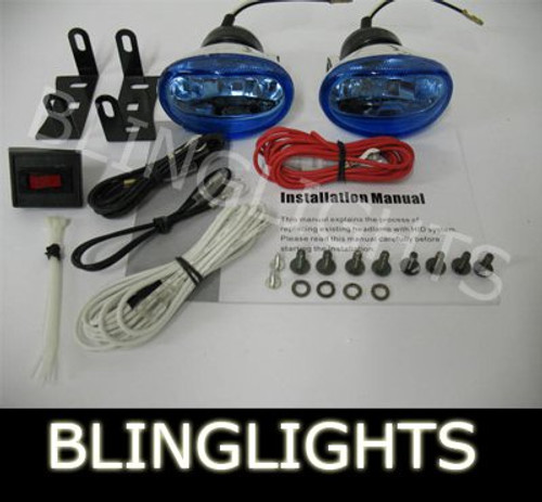 1989 1990 1991 1992 1993 1994 Nissan 200SX S13 Xenon Fog Lights Driving Lamps Kit
