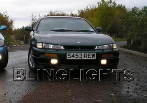 1994 1995 1996 1997 1998 1999 Nissan 200SX S14 S14b S14.5 Xenon Fog Lights Driving Lamps Kit