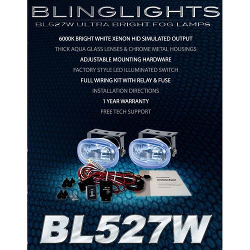1998 1999 2000 Mercedes-Benz C280 Xenon Fog Lights Driving Lamps Foglamps Lamp Kit C 280 w202