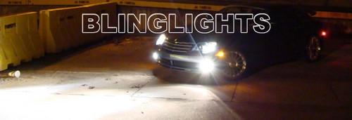 2004 2005 2006 2007 2008 Chrysler Crossfire Xenon Fog Lights Driving Lamps Foglamps Foglights Kit