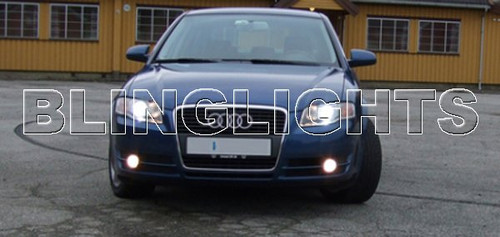 2006 2007 2008 Audi A4 Fog Lamp Driving Light Kit Xenon Foglamps Foglights Drivinglights