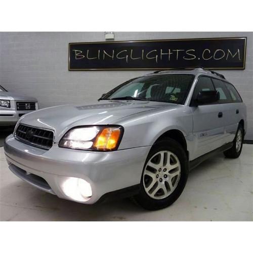 2000 2001 2002 2003 2004 Subaru Outback Halo Foglamps Angel Eye Fog Lamps Driving Lights Kit