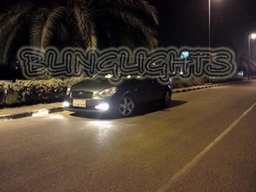 2006-2011 Hyundai Avega Xenon Fog Lamps Driving Lights