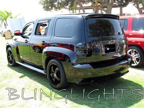 Chevy HHR Tint Smoke Overlays Taillamps Taillights Tail Lamps Lights Tinted Smoked Film Chevrolet