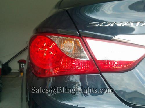 Hyundai Sonata Custom White LED Taillamp Spider Light Bulbs