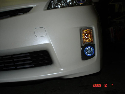 2010 2011 Toyota Prius Xenon Fog Lights Driving Lamps II III IV Hybrid kit