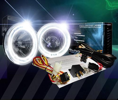 2004-2008 Nissan Maxima VIP Sarona Body Kit Halo Fog Lamps Driving Lights