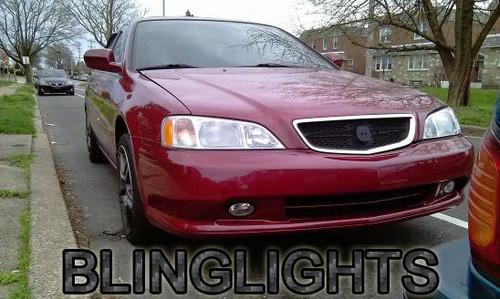 1999 2000 2001 Acura TL Fog Lamps Driving Lights Kit Xenon Foglights Drivinglights Foglamps