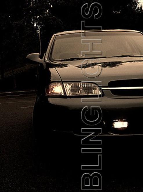 1998 1999 2000 2001 Nissan Altima Xenon Fog Lamps Driving Lights Kit XE GXE SE GLE L30