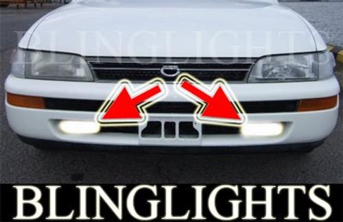 1992 1993 1994 1995 1996 1997 Toyota Corolla se ltd Xenon Fog Lamps Driving Lights Foglamp Foglight