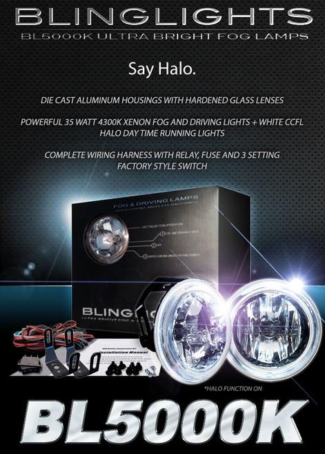 Daewoo Tosca Halo Fog Lamps Angel Eye Driving Lights Kit foglamps foglights drivinglights