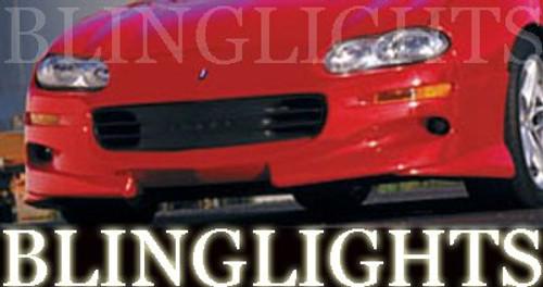 1998 1999 2000 2001 2002 Chevrolet Chevy Xenon Body Kit Bumper Foglamps Driving Fog Lights Lamps