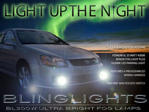 2004 2005 2006 2007 2008 2009 Kia Cerato Xenon Fog Lamps Driving Lights Foglamps Foglights Kit