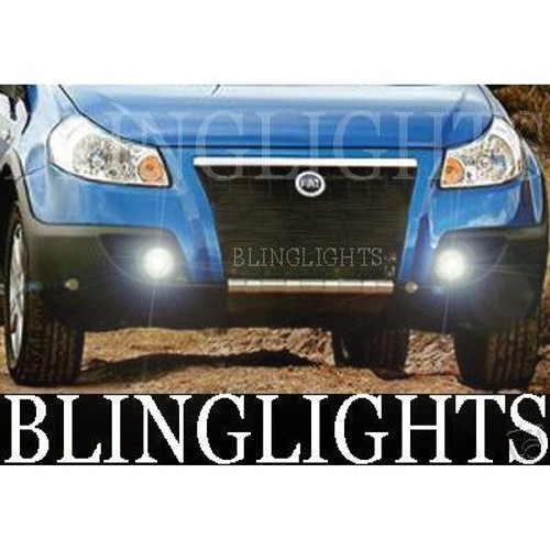 2005 2006 2007 2008 2009 Fiat Sedici Xenon Foglamps Fog Lamps Driving Lights Foglights Kit
