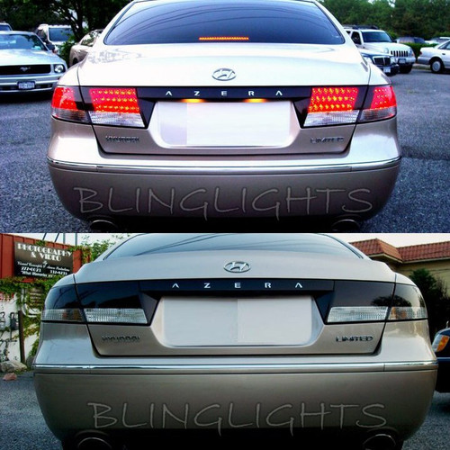 06-11 Hyundai Grandeur TG Tinted Smoked Tail Lamp Light