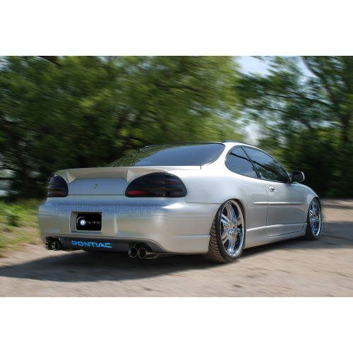 Pontiac Grand Prix Tinted Smoked Taillamps Taillights Overlays Film Protection