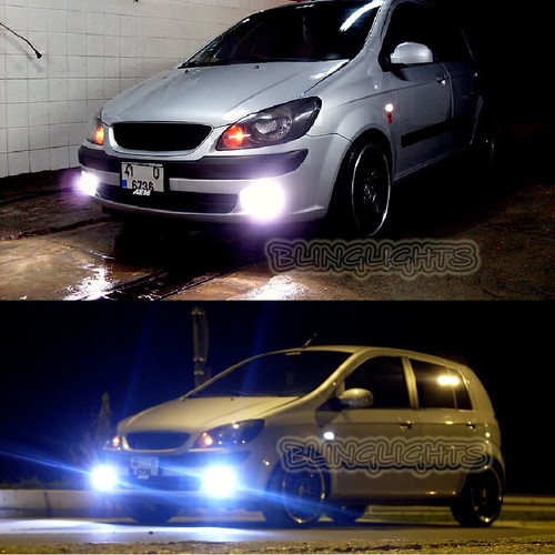 Hyundai Getz Halo Foglamps Angel Eye Foglights Fog Lamps Driving Lights Kit