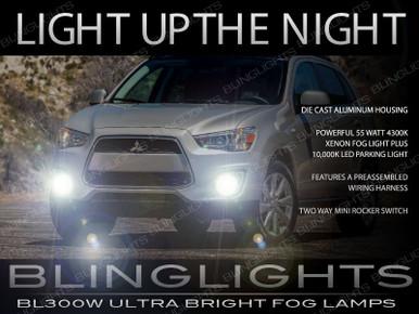 2013 2014 2015 Mitsubishi Outlander Sport Fog Lights Lamps