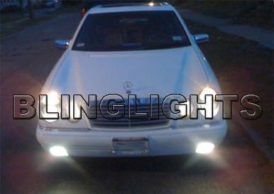 1998 1999 Mercedes Benz E430 Fog Lights Driving Lamps