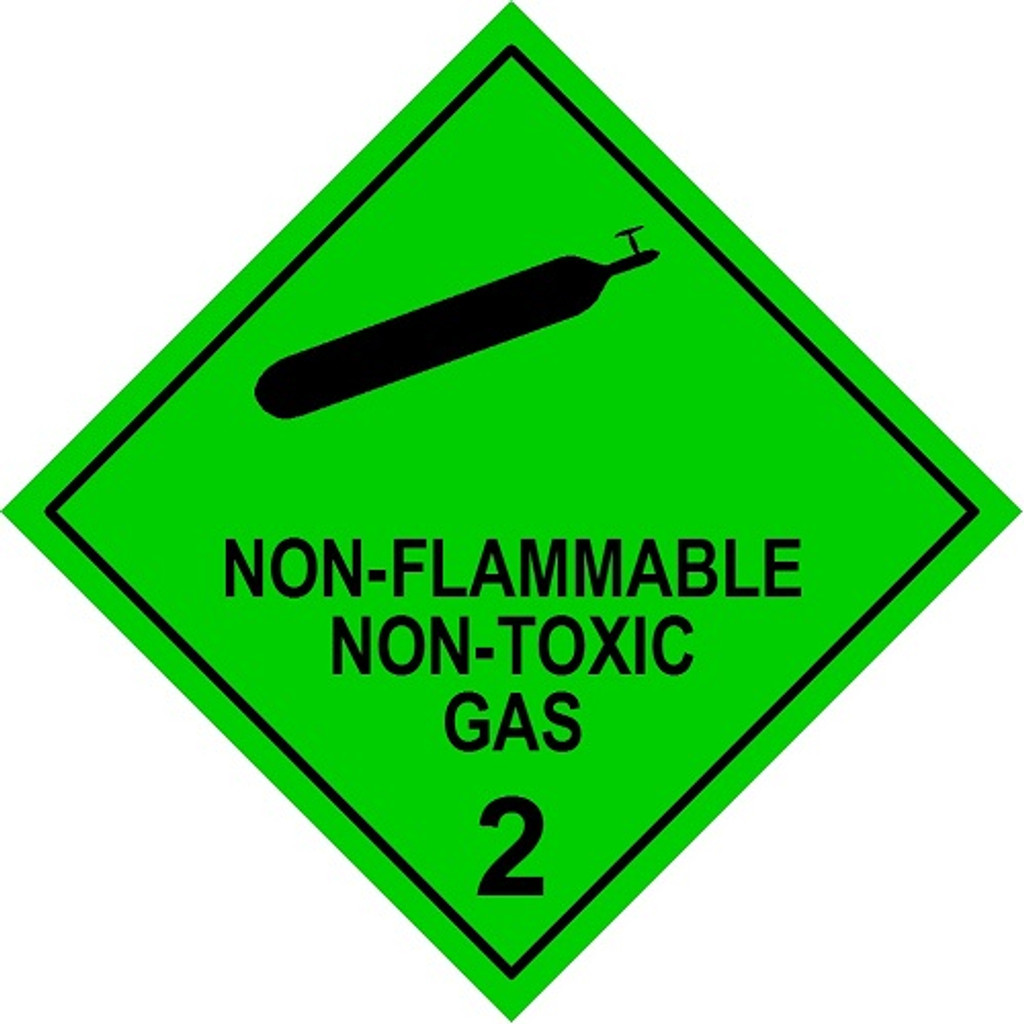 Non-Flammable Non-Toxic Gas 2 (Model No 2.2)