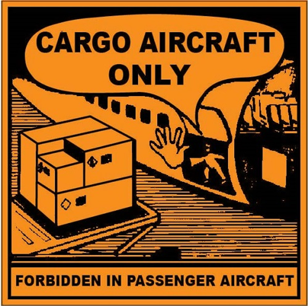 Cargo Aircraft Only Labels