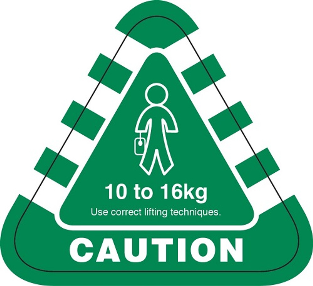 Weight Labels 10 to 16kg