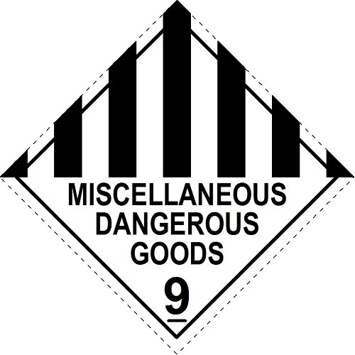 Miscellaneous Dangerous Goods 9 (Model No 9)
