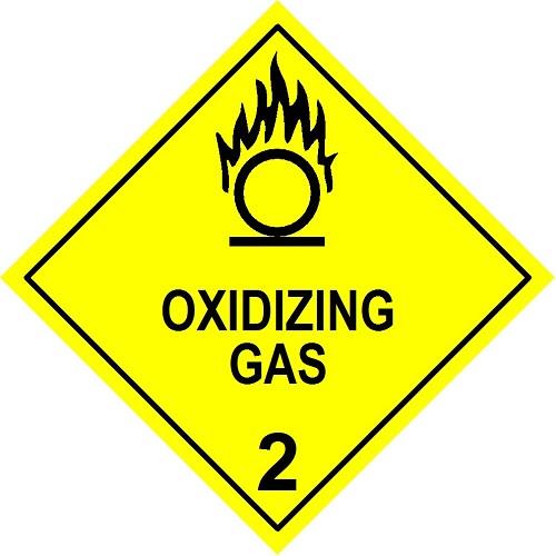 Oxidizing Gas 2 (Model No 2.5)