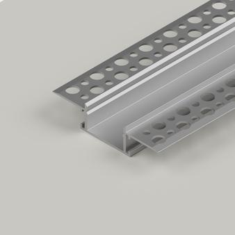Plaster-In Standard Recessed LED Aluminium Channel