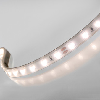 Syndeo Plug and Play 12V 60 LEDs 4.8w p/m LED Tape, Warm White 3000K, IP65 (5m Reel)