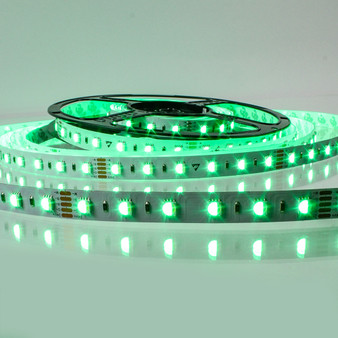 Pro Series RGB Colour Changing LED tape, RGB+CW 24V 60LED 19.2W p/m (5m reel)