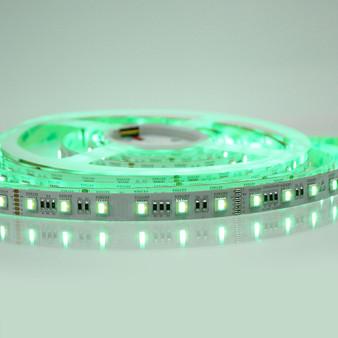 RGB+CCT (2400K-6500K) LED Tape, 24V, 60 LED (5 Metre Reel)