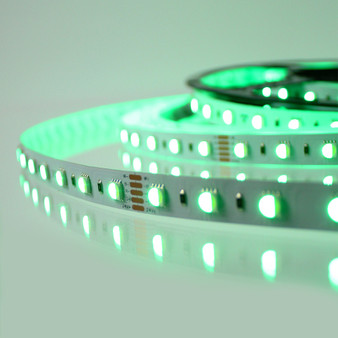 Pro Series RGB Colour Changing LED tape, RGB+WW 24V 60LED 19.2W p/m (5m reel)