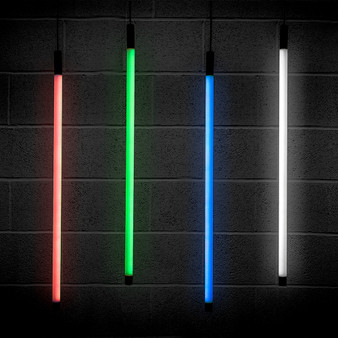 Solinas Wide Horizontal Architectural RGB Colour Changing Neon Tube Light, 24V
