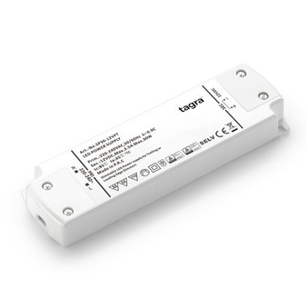 Tagra® Professional 12V TRIAC Dimmable Constant Voltage LED Driver 30W