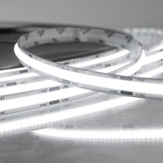Pro Series Spot Free COB Continuous LED Tape, 24V, 11.2Wp/m 1000LM, 90 CRI, Cool White 6000K, 5M reel