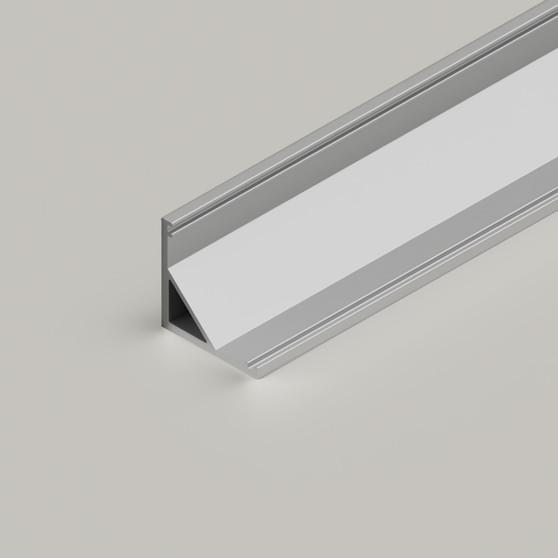 Small Corner Aluminium Channel 1616