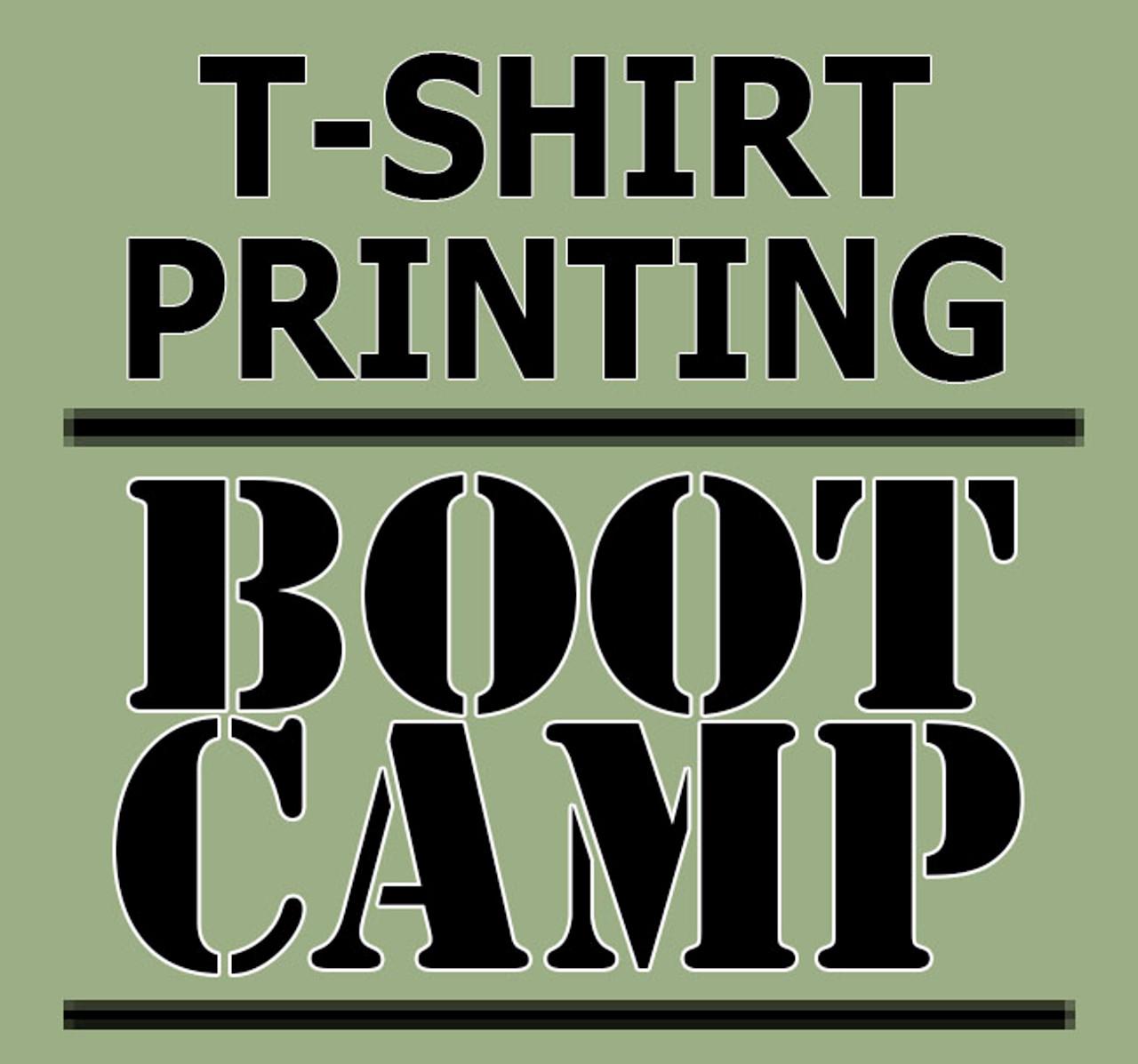 Class 101 - T-Shirt Printing