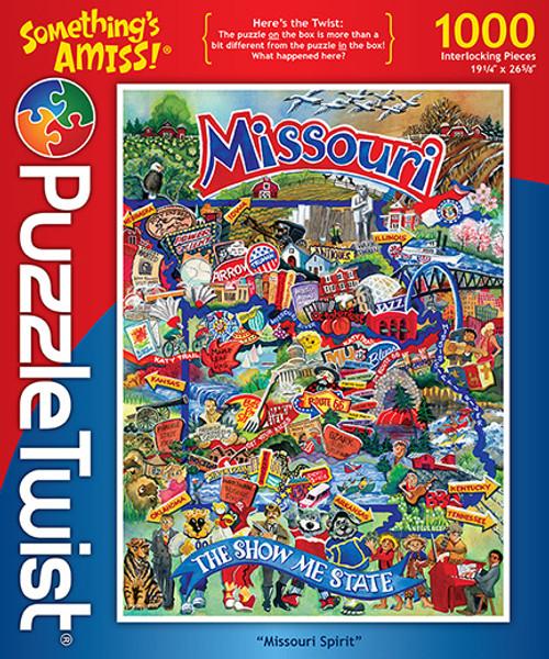 Missouri Spirit - 1000pc Jigsaw Puzzle by PuzzleTwist