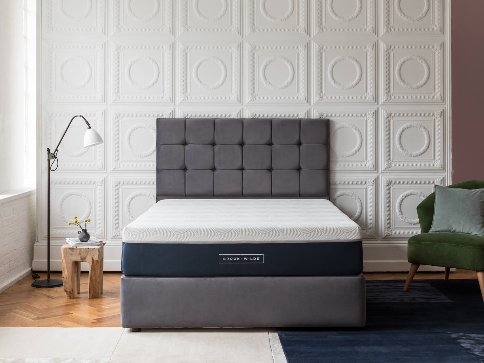 The Divan Bed Plush Steel with Ultima Mattress