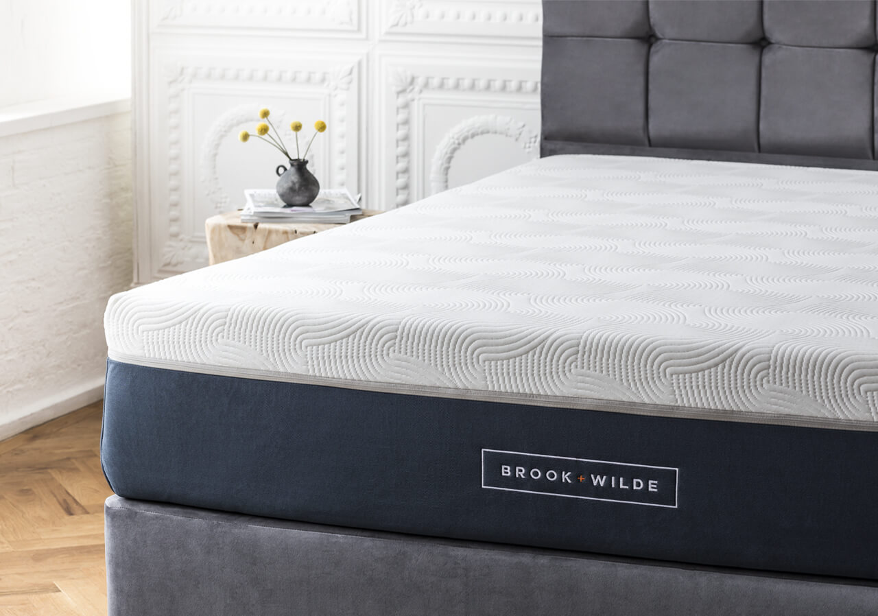 The Ultima Mattress on Bed Frame