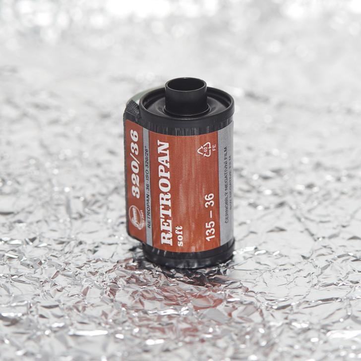 Foma Retropan 320 Soft b/w 35mm film