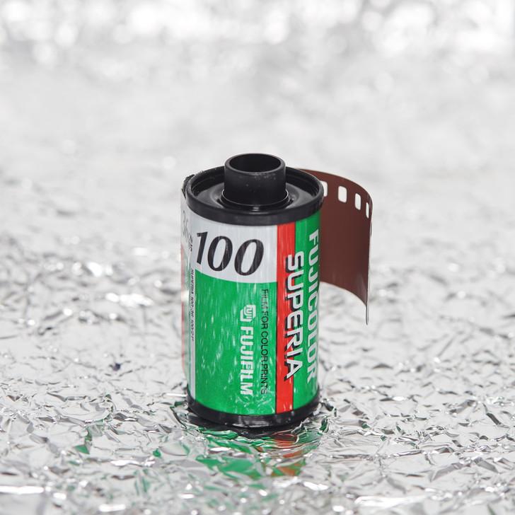 Fuji Superia 100 36exp 35mm film (expired)