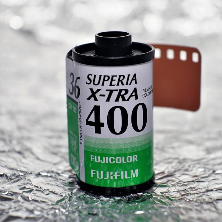 Fuji Superia XTra 400 36 exposures 35mm film