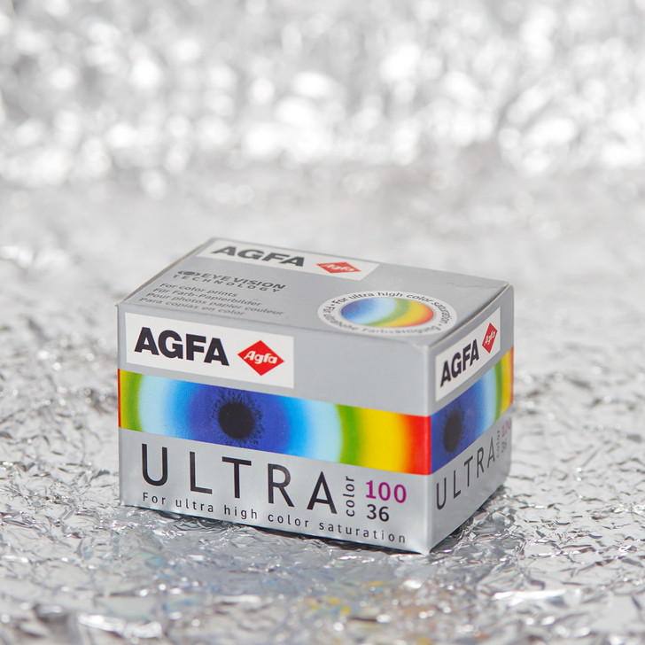 Agfa Ultra 100 35mm film (expired)