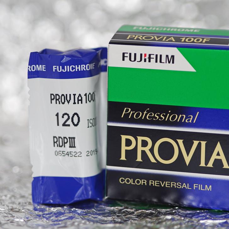Fujifilm Provia 100F 120 film