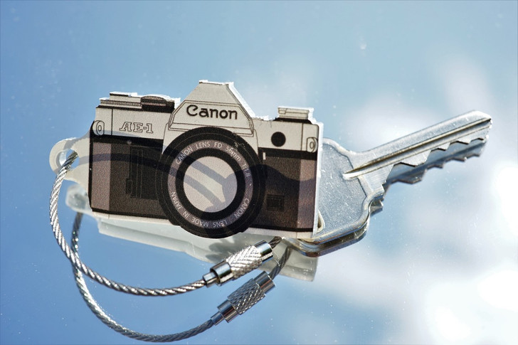 TIMFC Canon AE-1 keyring
