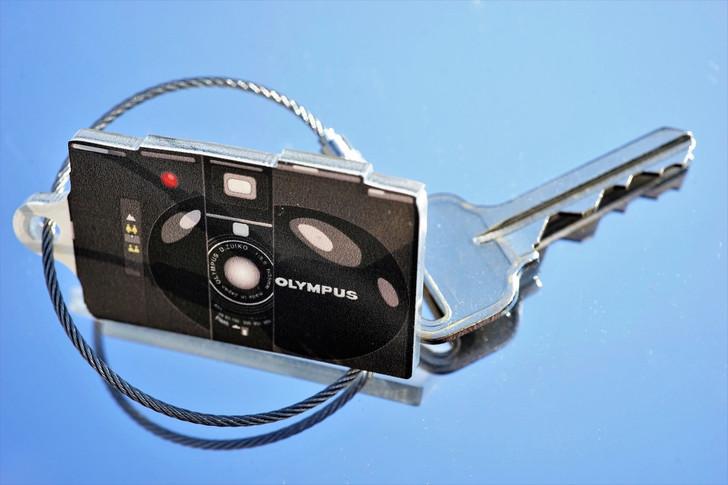 TIMFC Olympus XA camera keyring